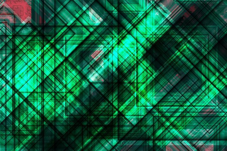 Abstracte veelhoekige kleurrijke achtergrond met verbonden punten en lijnen, verbindingsstructuur, futuristische hud achtergrond, vectorillustratie vector