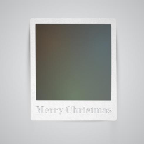 Weihnachtsfeiertags-Fotorahmen, Vektor