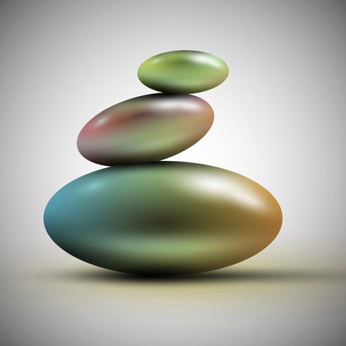 Spa stones, vector