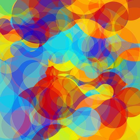 Abstracte kleurrijke vormen, vector