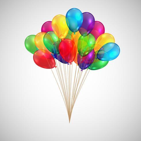 Illustration pour anniversaire ou n'importe quelle célébration, vecteur