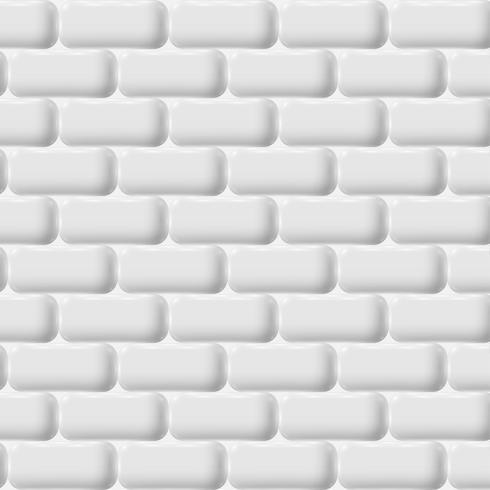 Mur de briques blanches, vector