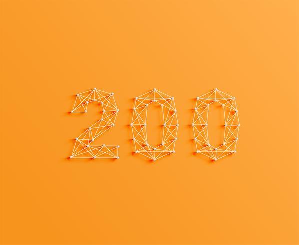 Eine Anzahl von Stiften und Linien, 3D und realistisch, Vektor