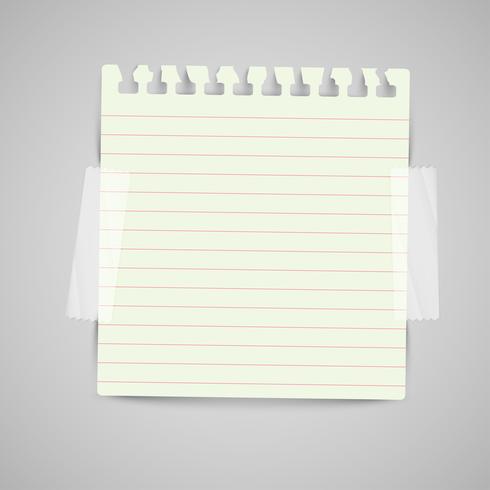 Etiquetas de papel comercial para publicidade ou para páginas da Web, vetor