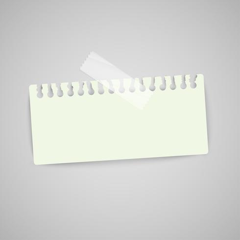 Étiquettes en papier commerciales pour la publicité ou pour les pages Web, vector