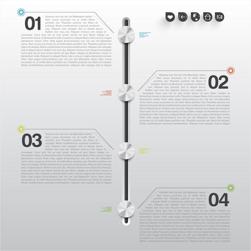 Conception infographique minimale
