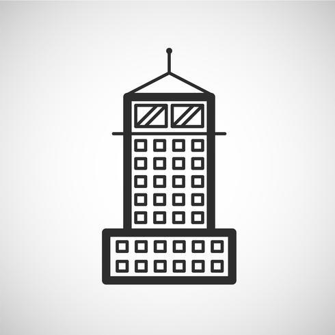 Accomodation icon, vector illustration
