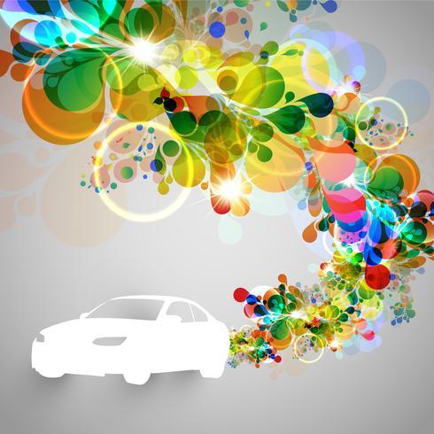 Kleurrijke auto vectorillustratie vector