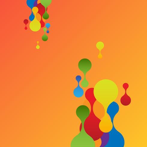 Fondo colorido para publicidad, vector