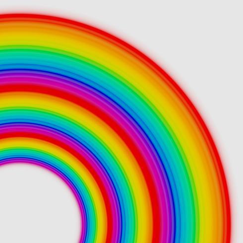 Rainbow cirklar, vektor