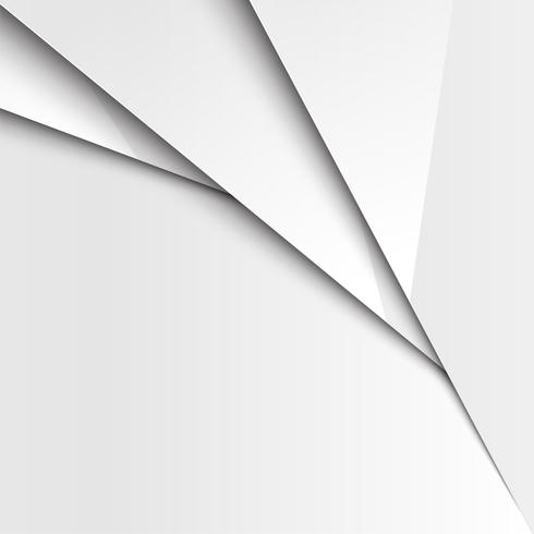 Layered abstract white background, vector