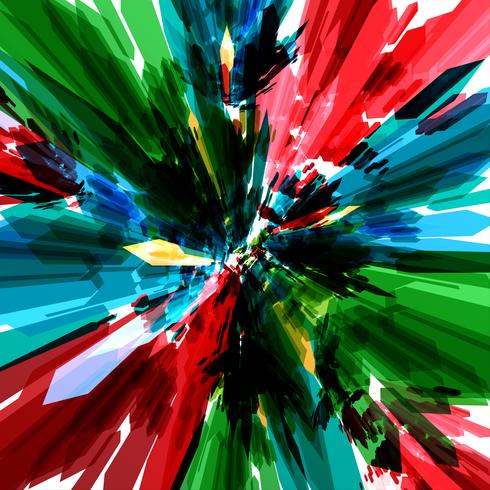 Fundo colorido, vetor