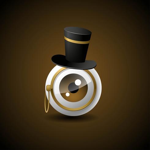 ögonlocksdetektiv illustration
