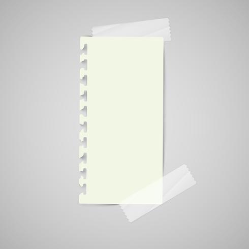 Etichette di carta commerciale per la pubblicità o per pagine Web, vettore