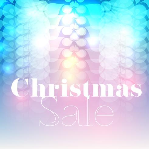Julförsäljning vektor flyer / bakgrund