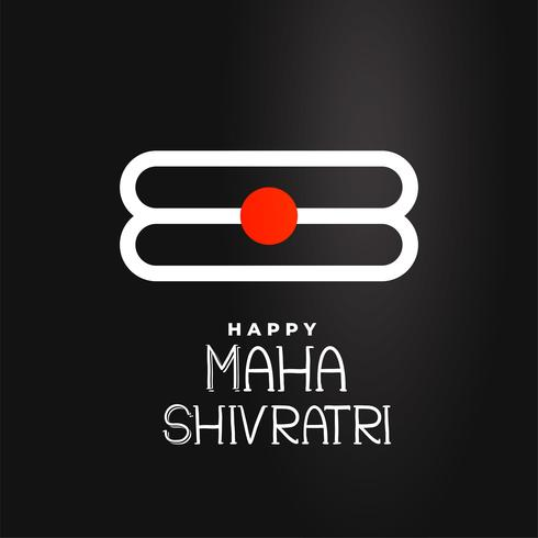 maha shivratri festival background design