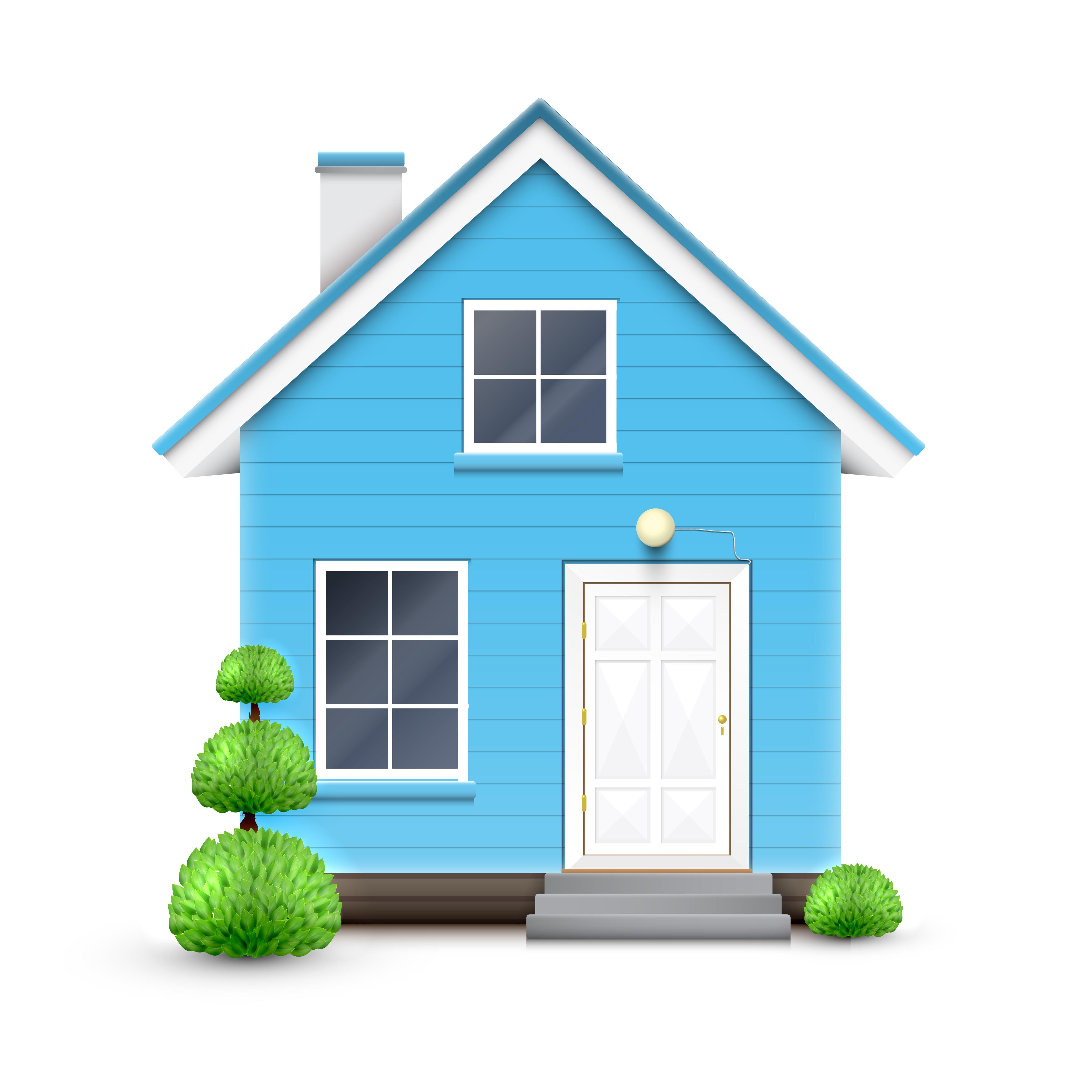 Realistic house vector download free vectors clipart for Home design 3d professional italiano gratis