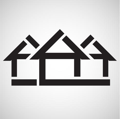 Accomodation icon, vector