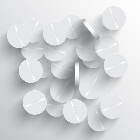 Pílulas de vetor médica