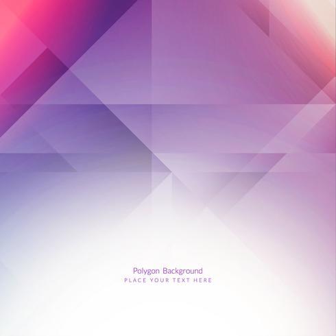 Fundo geométrico moderno polígono vetor