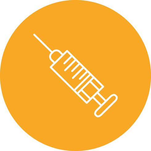 Vector injection icon