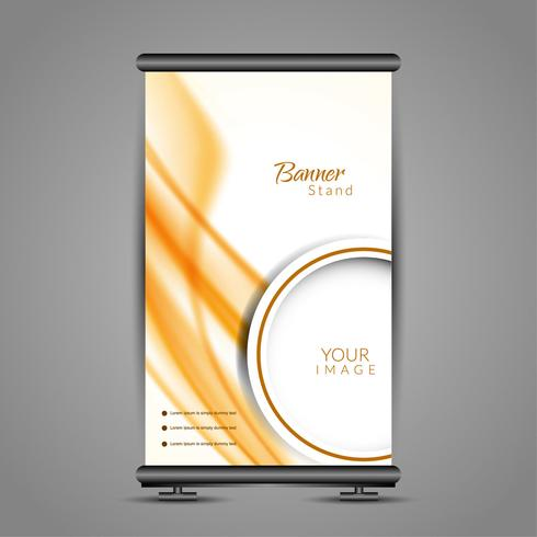 Design moderno di roll up banner stand