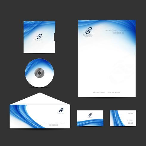 Modern Business Identity Design Set vektor