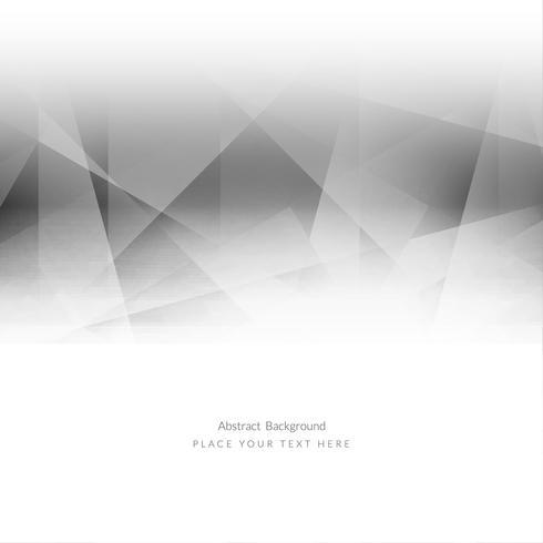 Fondo poligonal geométrico moderno vector