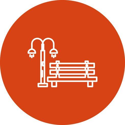 Vector Bench icon