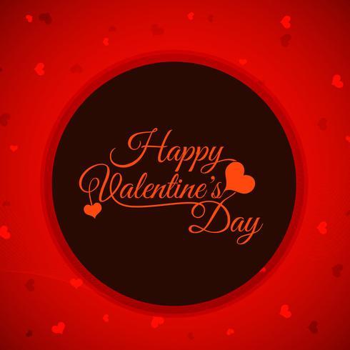 Fondo moderno feliz día de San Valentín