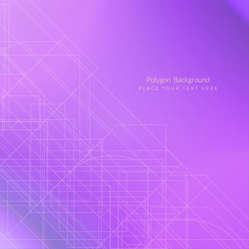 Modern geometrisk polygonbakgrund