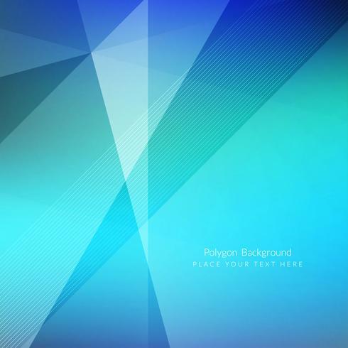 Modern geometric polygon background