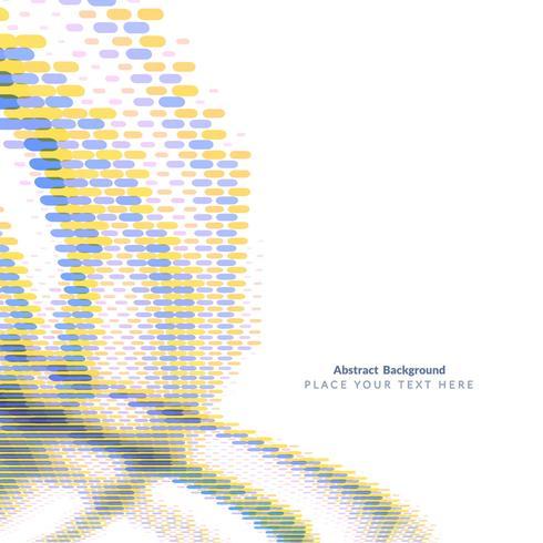 Fondo ondulado moderno abstracto