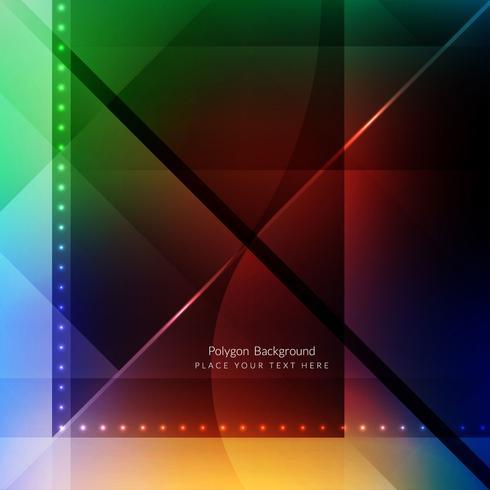 Moderno sfondo geometrico poligonale