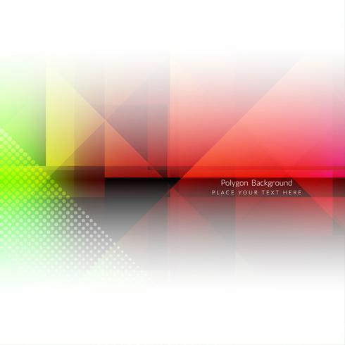 Modern geometric polygonal background vector