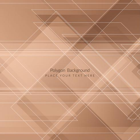Fundo geométrico moderno polígono
