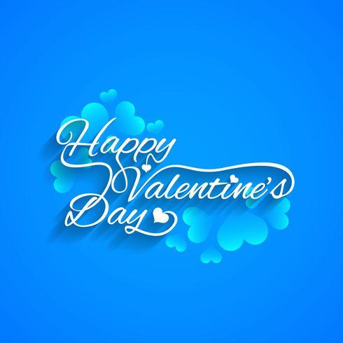 Fondo moderno di San Valentino felice