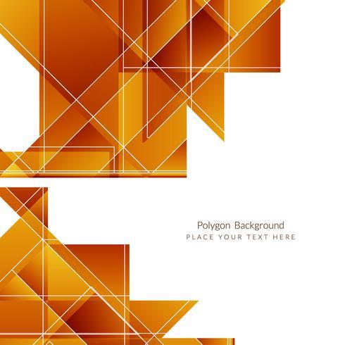 Moderner geometrischer polygonaler Hintergrund vektor