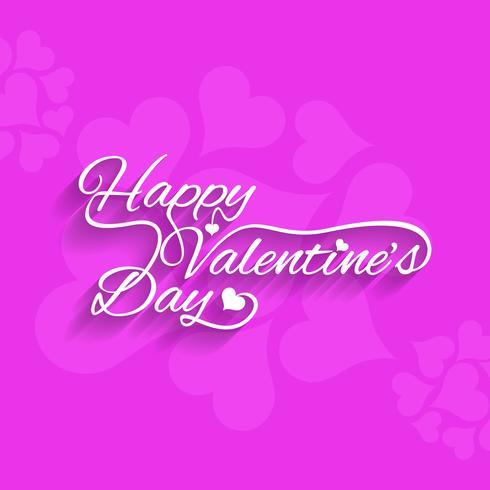 Fondo moderno feliz día de San Valentín vector