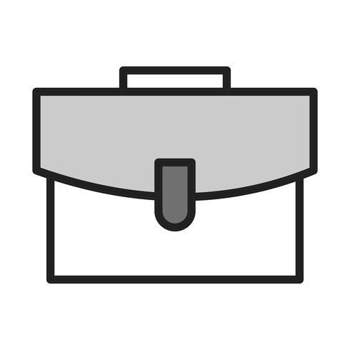 vektor portfölj ikon