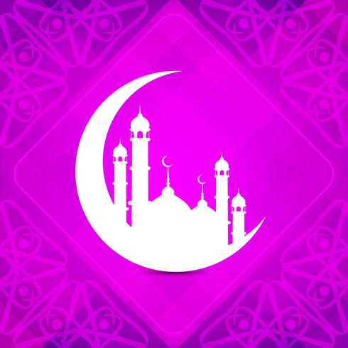 Abstract Islamic background vector
