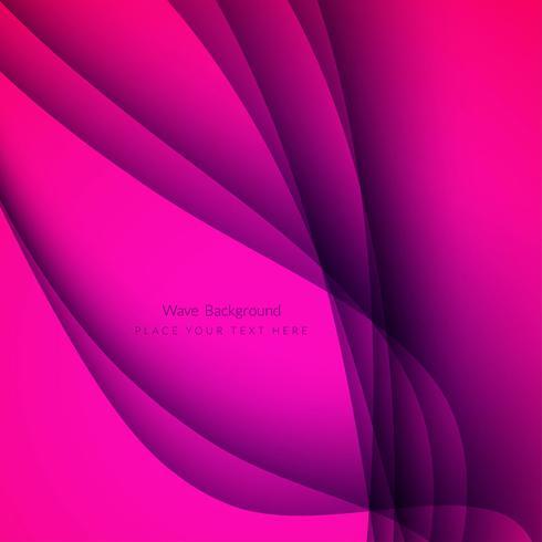 Modern elegant wave background