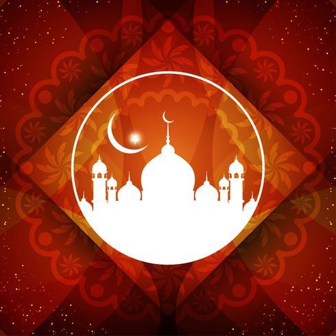 Abstrakter Eid Mubarak Hintergrund