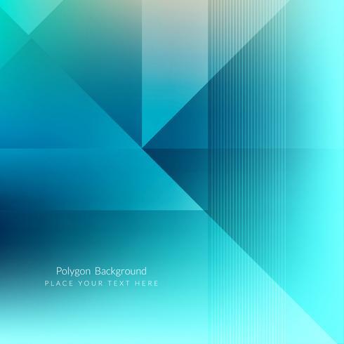 Modern geometrisk polygonal bakgrund vektor