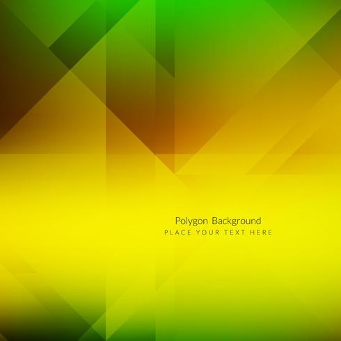 Fondo moderno geométrico polígono vector