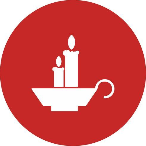 vector candles icon