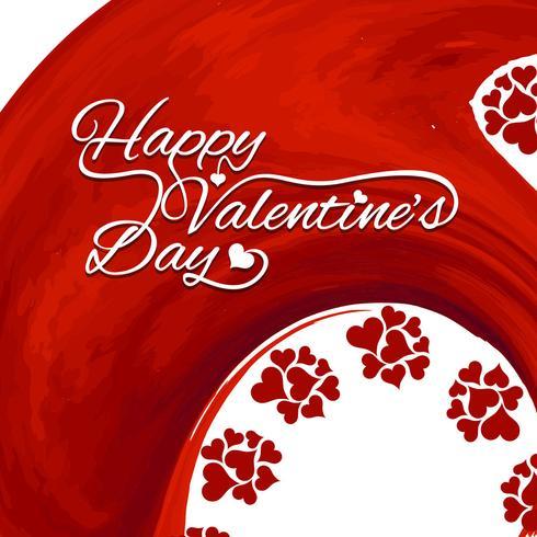 Modern Happy Valentine's day background