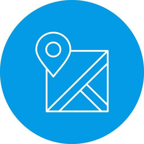 Icône de localisation vectorielle