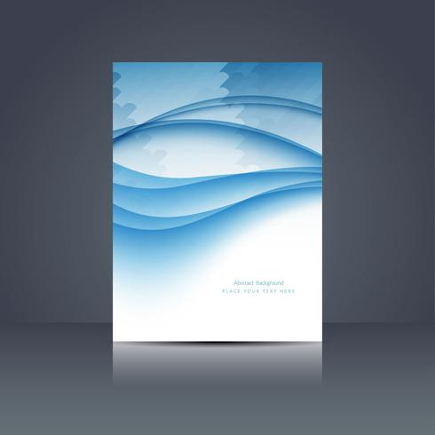 Modello di brochure di business moderno