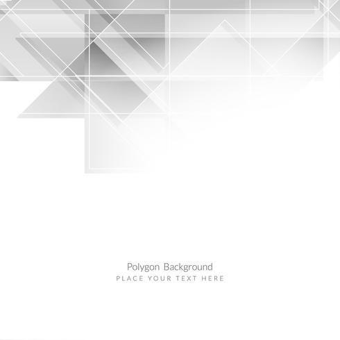 Modern geometric business background vector